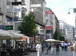 ウィーンの美しい街並み