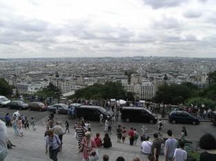 パリ市内を一望